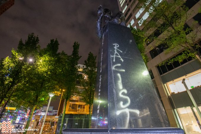 Monument voor Pim Fortuyn beklad https://t.co/j39fixBEIS https://t.co/TTKr6N7Z1T