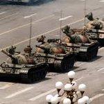 Image for the Tweet beginning: #OnThisDay 1989  #WeRemember  #TiananmenSquareMassacre