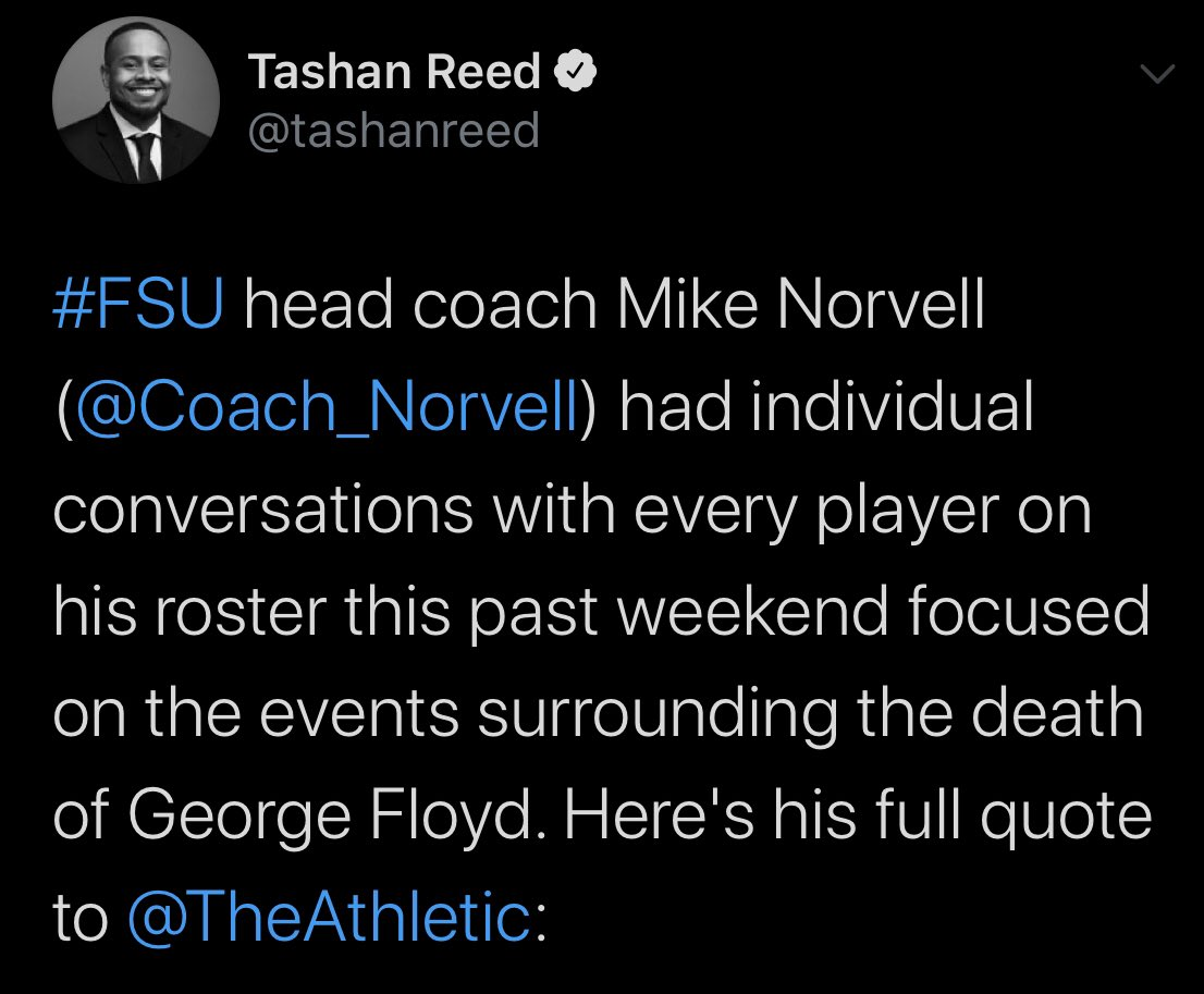 New Florida State head coach got caught telling a lie and his players called him out on it https://t.co/EGZYNgUkC5