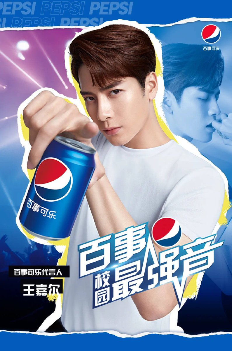 Jackson for Pepsi! I miss youuuuuu   @JacksonWang852 #TeamWang @GOT7Official<br>http://pic.twitter.com/vbCtYofv79