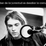 Image for the Tweet beginning: #Cobain