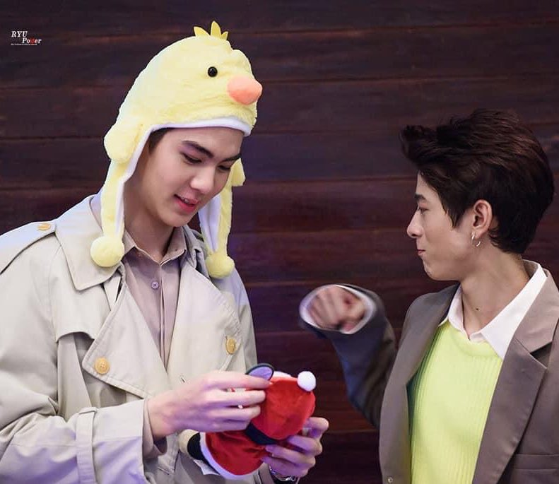 NINE BY NINE | Daily Life Recaps   I wonder how these hats are doing 55555    Credit on pics    #ThirdLapat #XXSIVK #RyuVachirawich #9by9TH #4NOLOGUEARTIST <br>http://pic.twitter.com/q8F99x4HAh