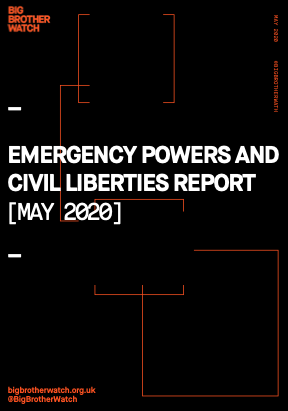 NEW: Our Emergency Powers & Civil Liberties report for May is now published. Weve sent a copy to every parliamentarian + urged them to follow 27 recommendations. We found plans for facial recognition thermal surveillance - all in the report + much more: bigbrotherwatch.org.uk/wp-content/upl…
