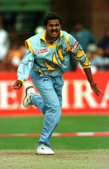 A tearaway fast bowler from a relative cricketing outpost of Mysore,he triggered a revolution in Indian pace bowling. Even in most unhelpful conditions,he always responded to the team's needs with unflinching zeal. Sri's strength was his hunger to perform under adverse conditions https://t.co/zEwy36lrDT