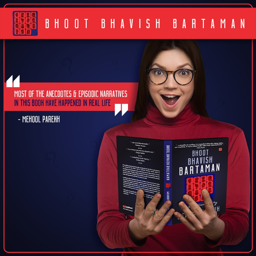Now isn't that a good enough motivation to get your hands on Bhoot Bhavish Bartaman right away? Read this gripping murder mystery now on Kindle!  #Book #MurderMystery #Readers #BookLovers #Detective #Investigation #Crime #Books #Bookstagram #Puzzle<br>http://pic.twitter.com/pJtRmMHMly
