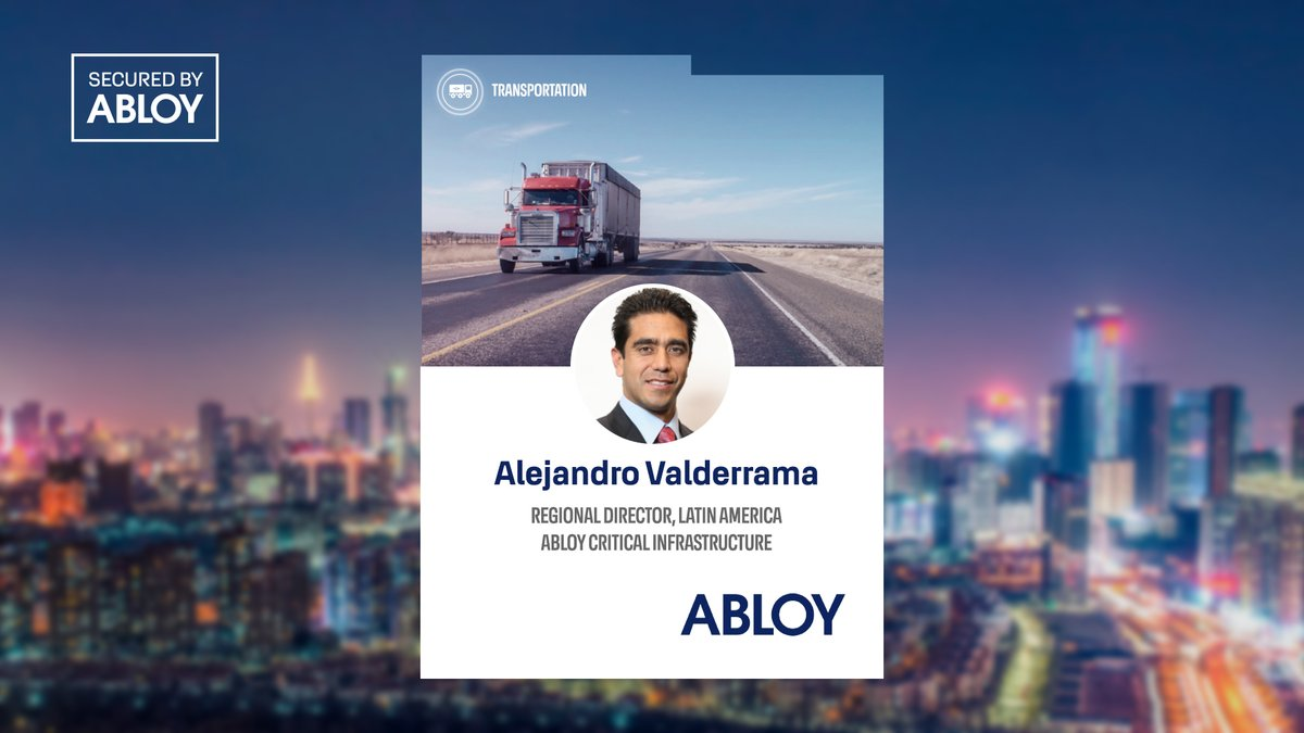 .@ILMagazine study: Lack of #supplychain visibility was the 6th biggest challenge faced by shippers. Alejandro Valderrama from @AbloyColombia reveals 9 tips for tackling this and other #security challenges in #transportation: https://t.co/09RruZukHD 🚛🔓 #AbloyBeat #AbloyForTrust https://t.co/BouYEA3iSG