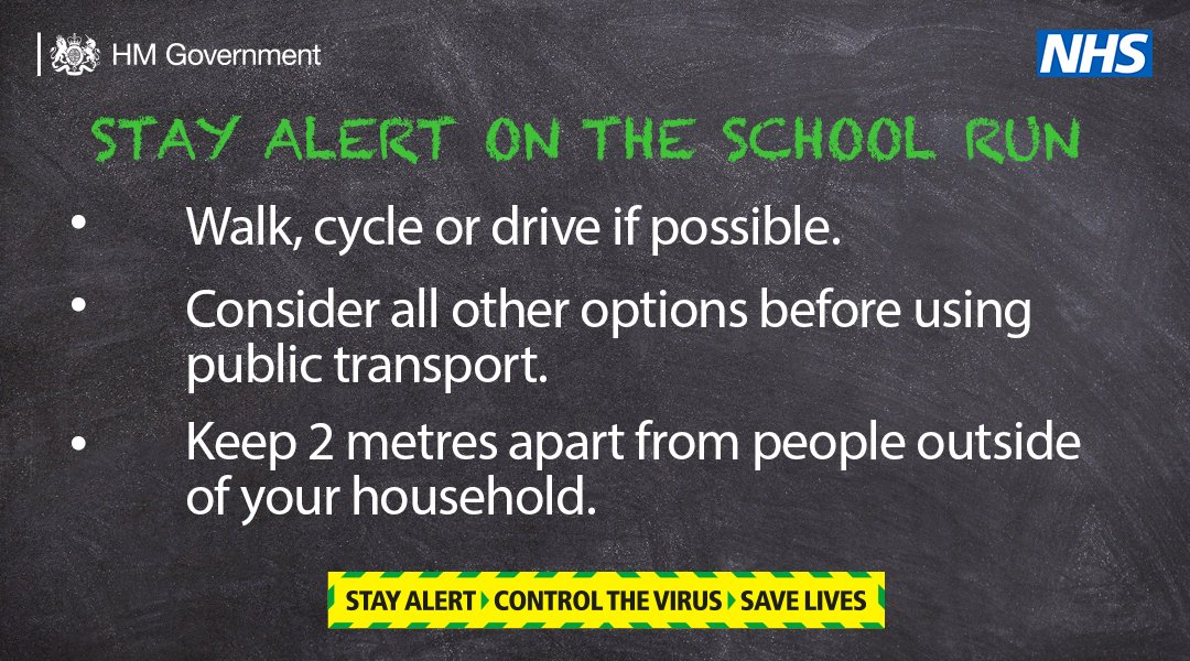 If you are dropping your children at school this morning, stay alert by following these simple tips ⬇️