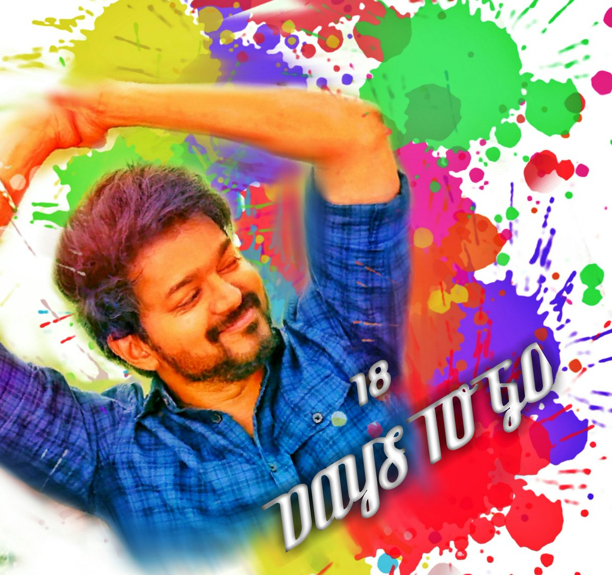 18 Days to go for our #Master Birthday   @actorvijay #SpreadVIJAYism<br>http://pic.twitter.com/lygD4n7QL1