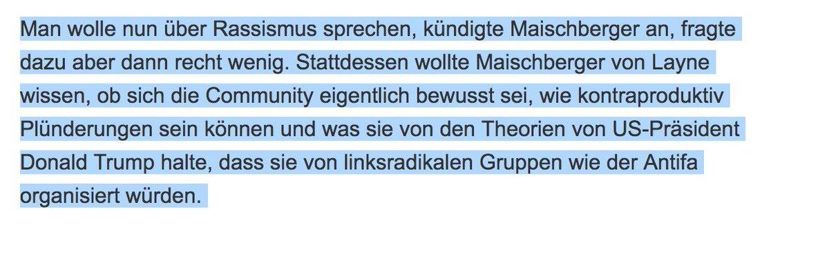Was stimmt mit Ihnen nicht, @maischberger? tagesspiegel.de/gesellschaft/m…