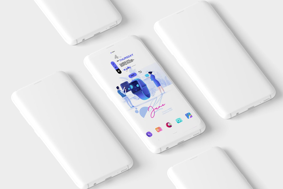 Today's setup Wall by @RindoneSaro  Widgets by @ppickCH & @ChrisJ4ck  Icons by @Aditya_Azka02  Template by @vhthinh_at #Kwgt #Hishoot2i #cleansetup pic.twitter.com/PvnCPJuBdf