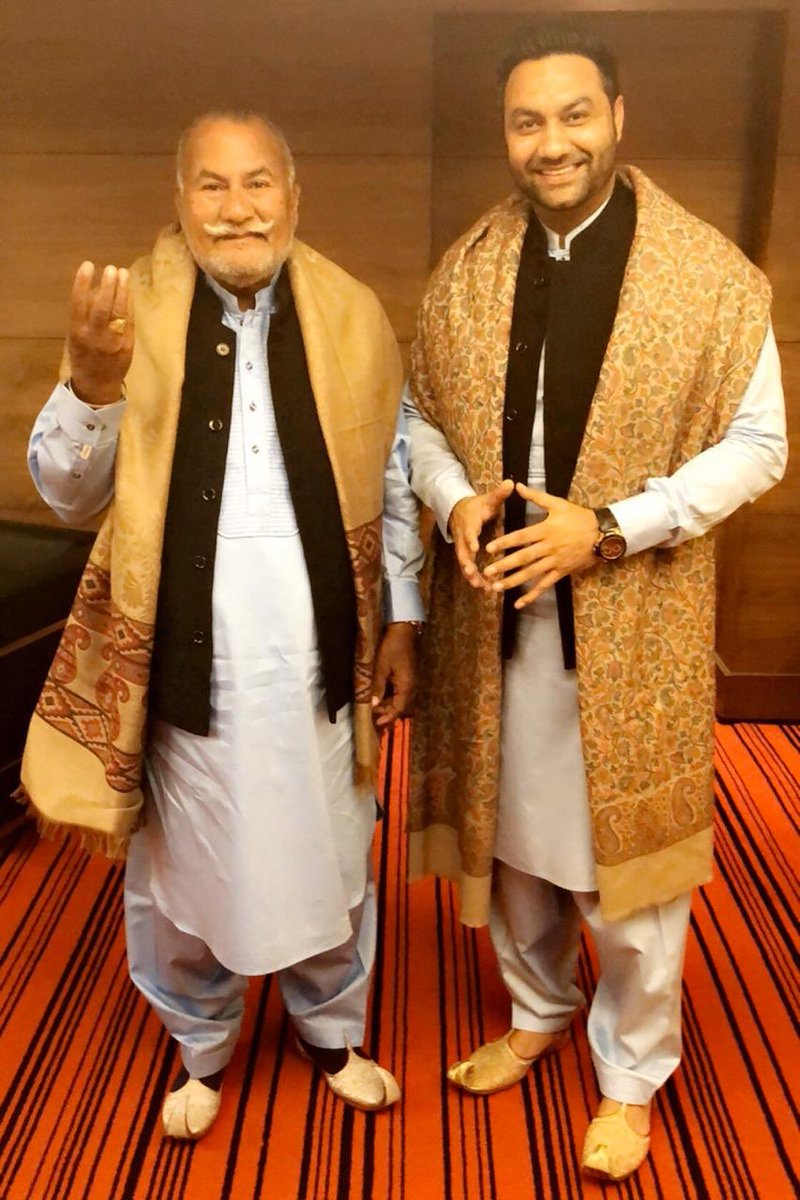 Happy Birthday My Father...My (Ustad ) teacher. Padam Shri Ustad Puran Chand Wadali ji. Having Bhapa ji is a pure bliss. May God bless him with a long healthy life. 🎂🎉 #Thewadalis #Lakhwinderwadali #wadalimusic https://t.co/VRfBgiWv4E