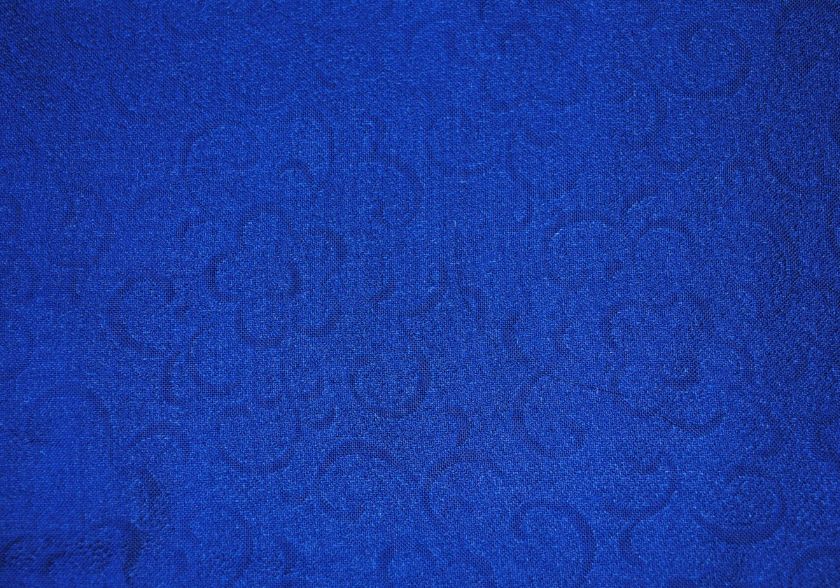 Vintage 1960s, Beautiful Royal Blue Jacquard Woven Fabric, Polyester, Yardage, by the Half Yard, Wonderful Drape  #jacquard #no #floral #fashionapparel #royalblue #vintagefabric #sewing #dressfabric