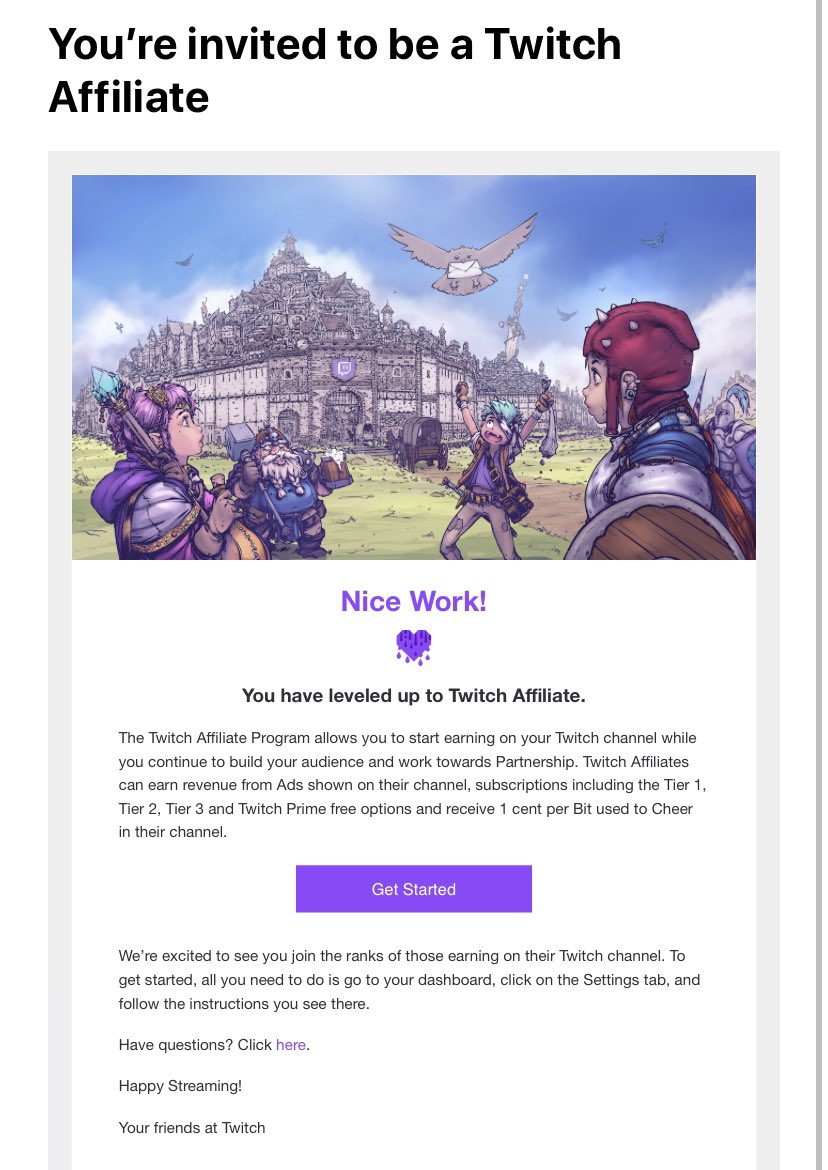 Finally! #SupportSmallStreamers #twitch #twitchaffiliate #twitchstreamer #twitchstreaming #twitchgamer #twitchgaming #TwitchTVGaming #twitchtv #twitchcommunity #gaming #gamingcommunity #gamer #gamers #videogames #videogame #xboxone #ps4 #nintendoswitch #xbox #streamer #streaming