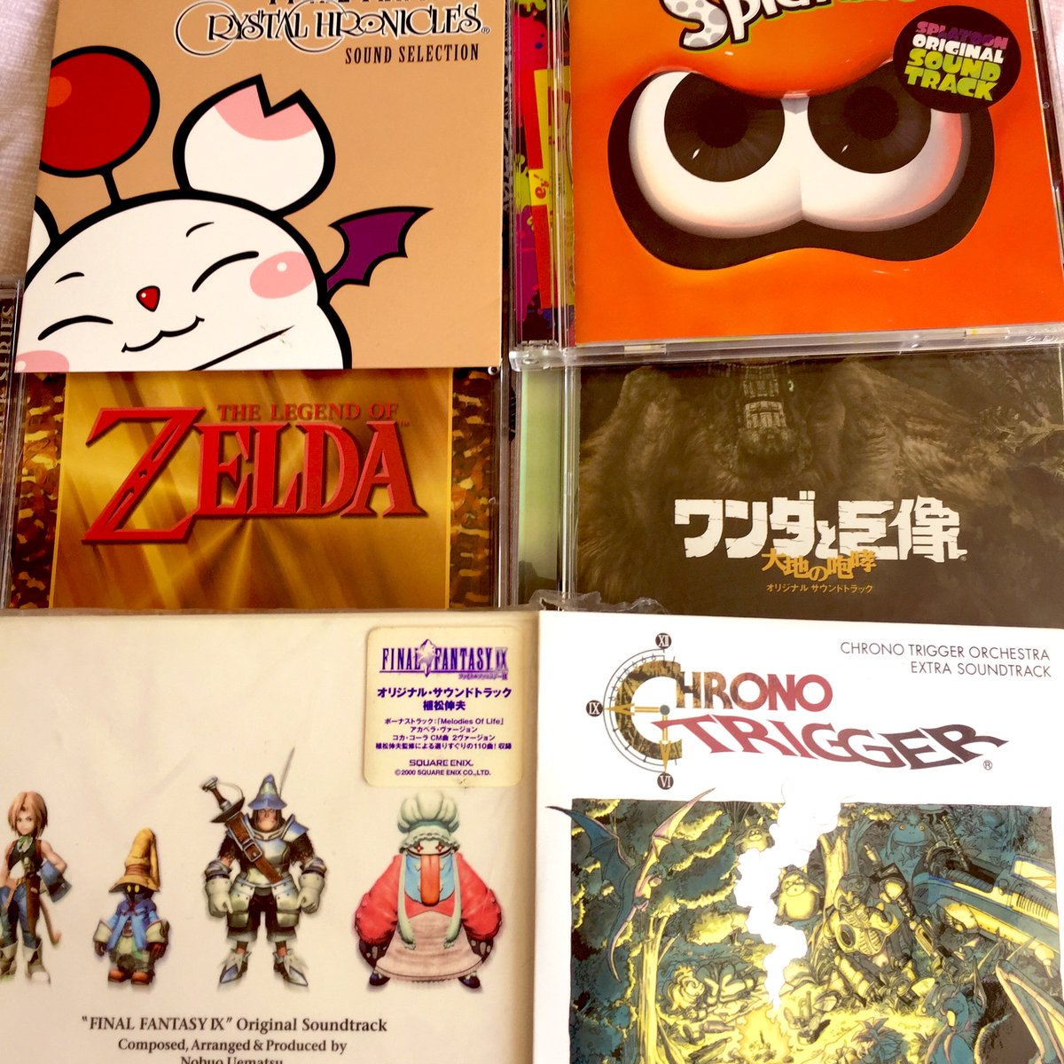 Rummaging through boxes of old stuff and found some of my old video game soundtrack CDs! 👌🏼 What are your favourite video game soundtracks? #gamingcommunity #videogames