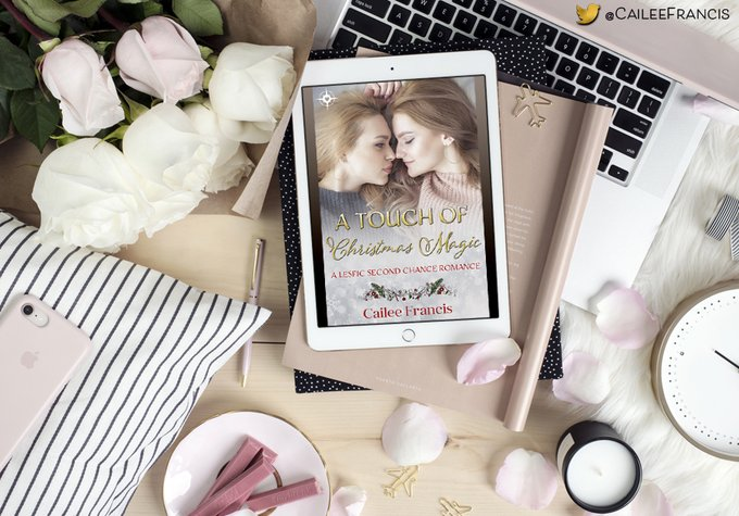 A Touch of #Christmas Magic: A Lesfic Second Chance Romance   Available on Amazon and #KindleUnlimited :) #lesfic #lesbianromance #romance #promoLGBTQ