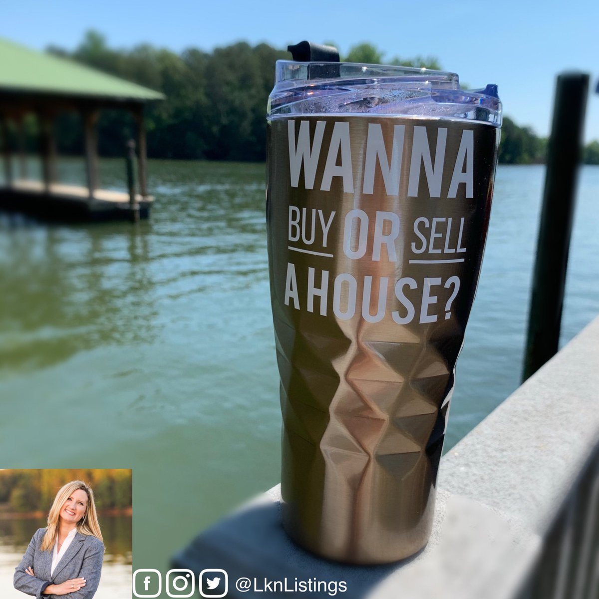 𝑾𝒂𝒏𝒏𝒂 𝑩𝒖𝒚 𝒐𝒓 𝑺𝒆𝒍𝒍 𝒂 🏡 . . . . . #wanna #buy #or #sell #a #house #lknlistings #lake #dock #metalroof #pier #water #sunshine #trees #cup #coffee https://t.co/g8ejKJdEUo