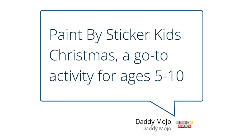 """What makes Paint By Sticker Kids Christmas unique, aside from being Christmas themed, is that a couple of the final pictures have glitter stickers.""  #PaintBySticker #Christmas"
