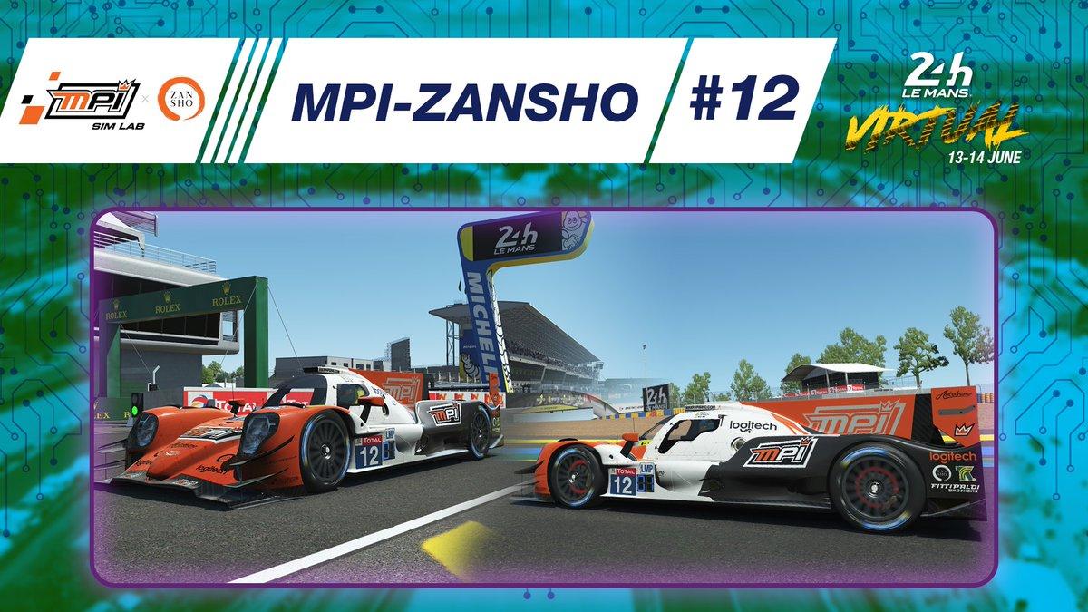 👉Team MPI @ZanshoSimsport  has unveiled the livery on the #12 Oreca 07 LMP2!   #LeMans24Virtual https://t.co/jl64OarG1T