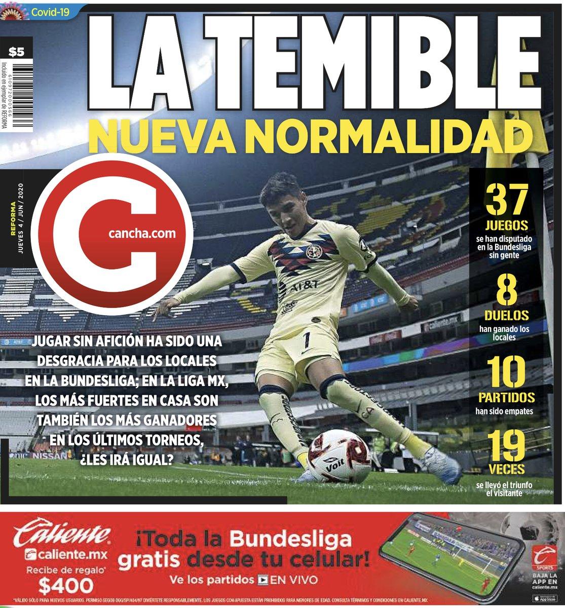 Las portadas deportivas de los principales diarios de #CDMX, #Guadalajara, #Monterrey y #LaLaguna https://t.co/yjLxOqZs46
