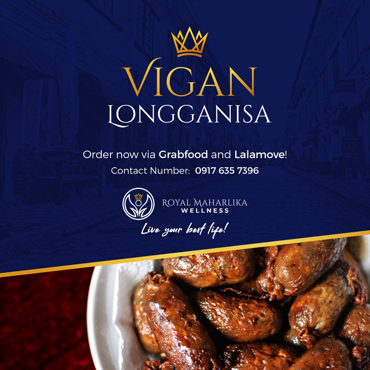 Under the GCQ, most people are still not allowed to go out. Stay home while having the classic Pinoy comfort food Vigan Longganisa! Hit us up for your orders and we'll deliver it to you.  #RoyalMaharlika #Liveyourbestlife #flattenthecurve  #beatCOVID #stayathome https://t.co/J7zKFnixO1