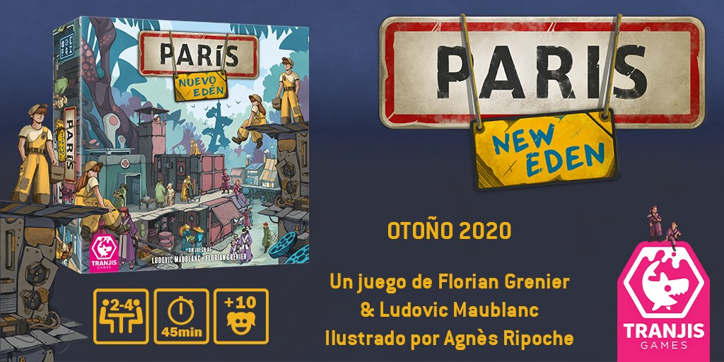 Lanzamientos Tranjis París