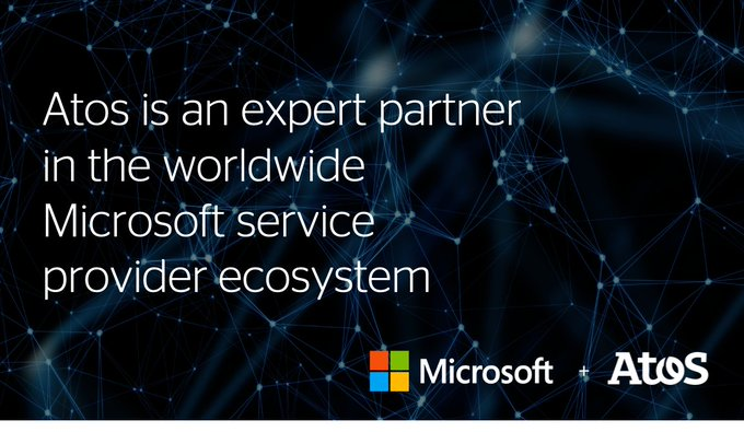 Atos is one of the most powerful players in the worldwide Microsoft service provider...