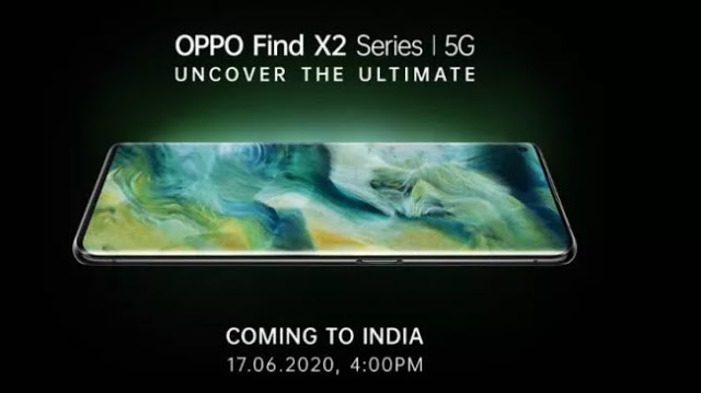 Oppo Find X2 series to launch in India on June 17 https://collectanea20.blogspot.com/2020/06/oppo-find-x2-series-to-launch-in-india.html… #techgeek #technews #techupdates #firstlook #smartphone #instagadget #instatech #gadgetsnews #oppox2pic.twitter.com/rdhFD0es21