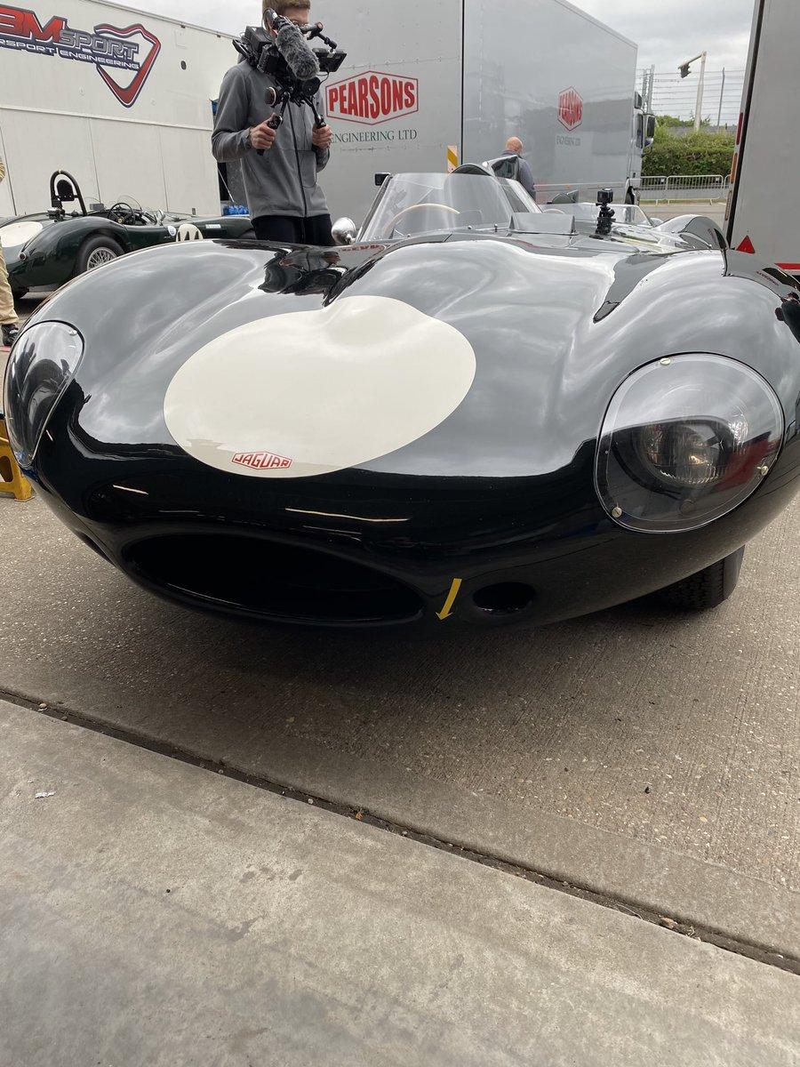 Next up the legendary Jaguar D-Type. https://t.co/6MWk9NkaLR