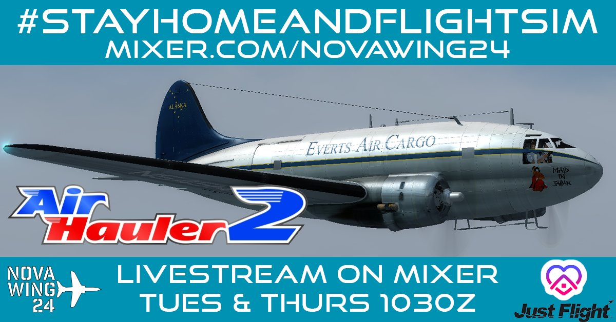 I'm going live on @WatchMixer with more Adventures #DownUnder with @JustFlight Air Hauler 2!    #smallstreamers #SmallStreamersConnect #SmallStreamerCommunity #SmallStreamerCommunity #avgeek #flightsim @MixerStreams @SupportStreamz