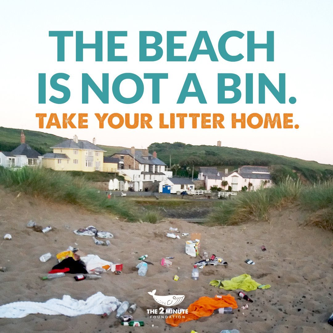 If you are heading to the beach, then be safe and take your rubbish home. #WorldEnvironmentDay #ForNature