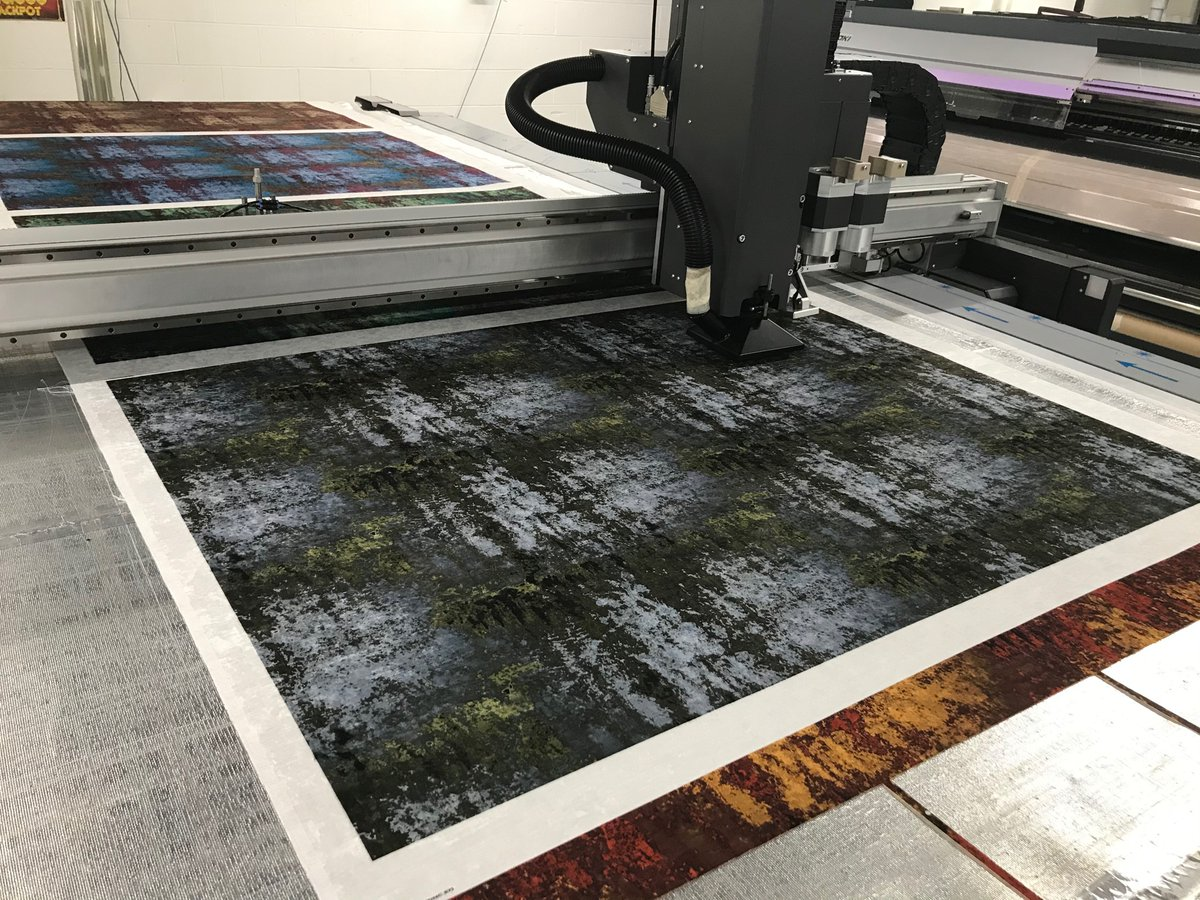 Following on from our Zinc collection, new colours being printed for our new Matrix collection, 16 colour ways #interiors #hospitality #designers pic.twitter.com/FY5MQIfANC