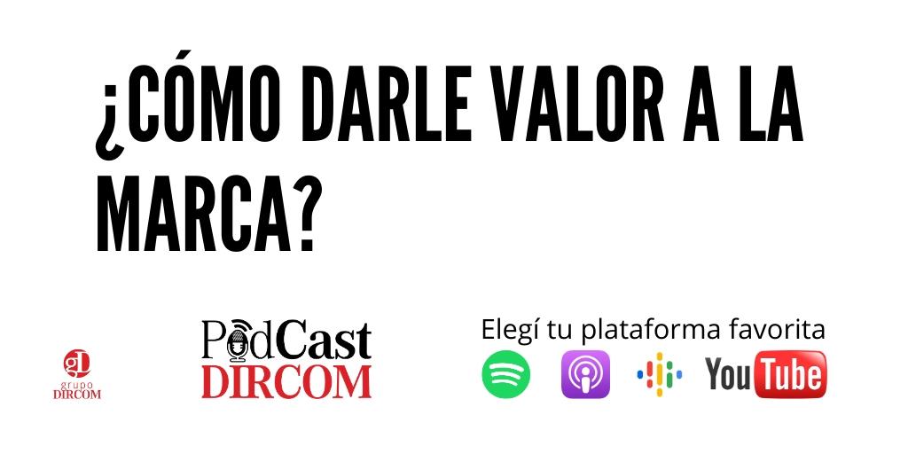 ¿Cómo darle valor a la #Marca? ¿Qué es el Valor para la Marca? El Dr. @jjlarrea responde y da tips para tu estrategia. Elige tu plataforma de Podcast preferida. ⏯Spotify:   Apple: 📺YouTube:  #dircom