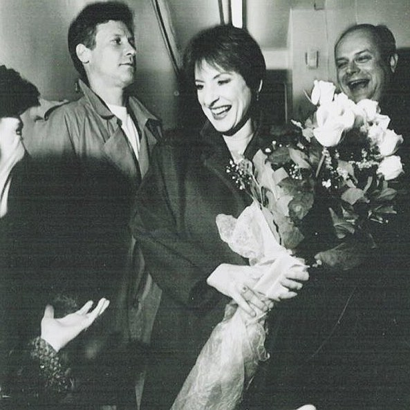 """#ThrowbackThursday Patti at the opening night of """"The Old Neighborhood"""" on 19th November 1997. #PattiLuPone #TheOldNeighborhood #broadway #tbt #Throwback pic.twitter.com/uSsDcY4nsh"""
