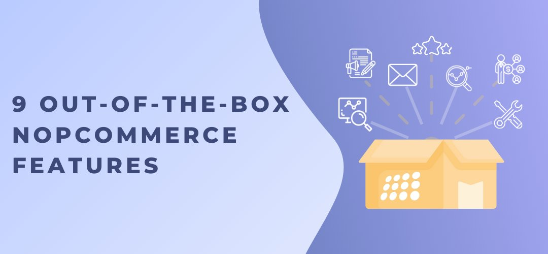 9 out-of-the-box nopCommerce features you can use to market your store: https://t.co/zWEwe9jJbH  #nopcommerce #marketing #ecommerce https://t.co/Neq6sebzC9