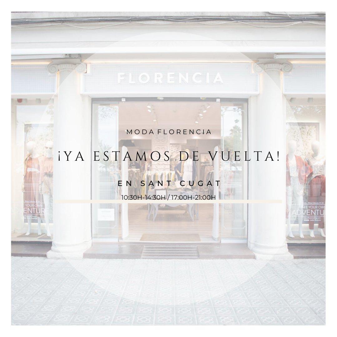 😍Mañana abrimos la tienda de Sant Cugat 😍  😍 Tomorrow we open the Sant Cugat store 😍  #florencia #modaflorencia #look #florenciashop #florencialooks #brand #marca # moda #florencia  #loestamosconsiguiendo #proteccion #seguridad #todosjuntos #all #juntospodemos