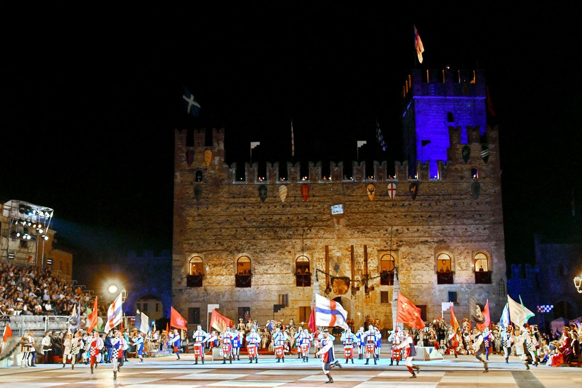 #Vicenza Marostica si arrende: la partita a scacch...
