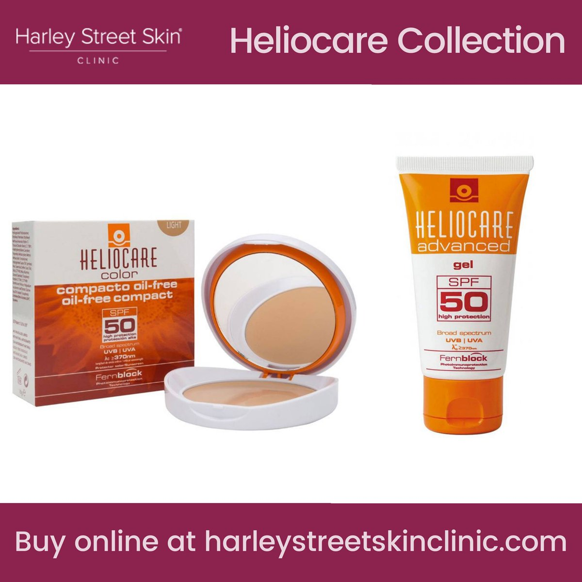 An intelligent range of premium photo-protection products for healthy, happy #skin. Check out the #Heliocare collection in our online shop here: https://t.co/dZNRw6ci3T https://t.co/s9dLN4lyV0