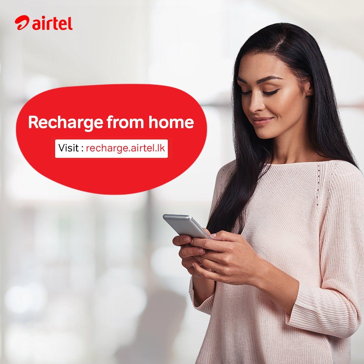 Now you can reload your Airtel connection using your bank credit or debit card. Visit https://t.co/t53fdVuGrR 😎 https://t.co/NTdD5li2Ek
