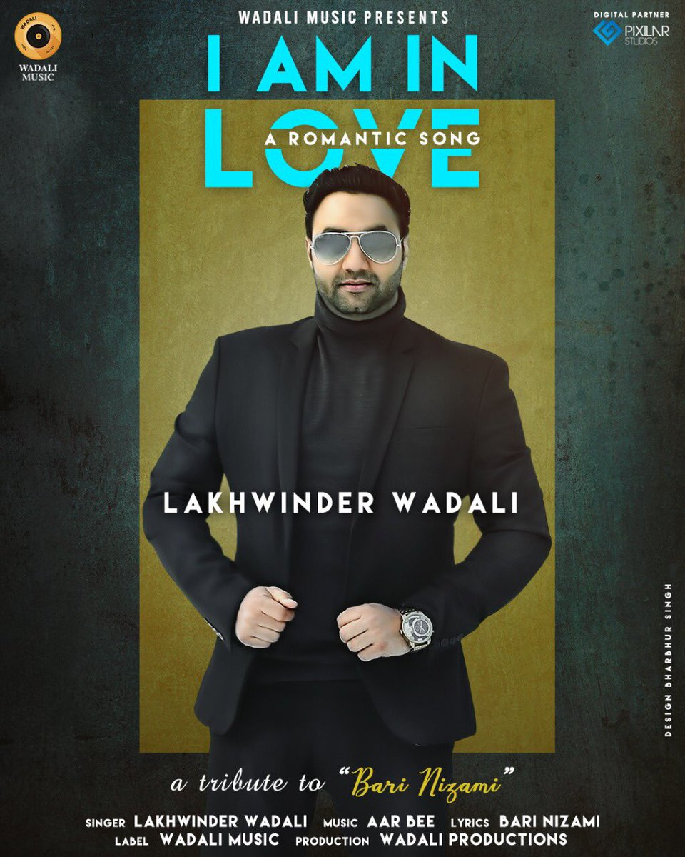 """Today releasing brand new unplugged song """"I Am iN love"""" on Wadali Muisc official channel #Lakhwinderwadali #wadalimusic #Thewadalis https://t.co/8fDghiNcxr"""