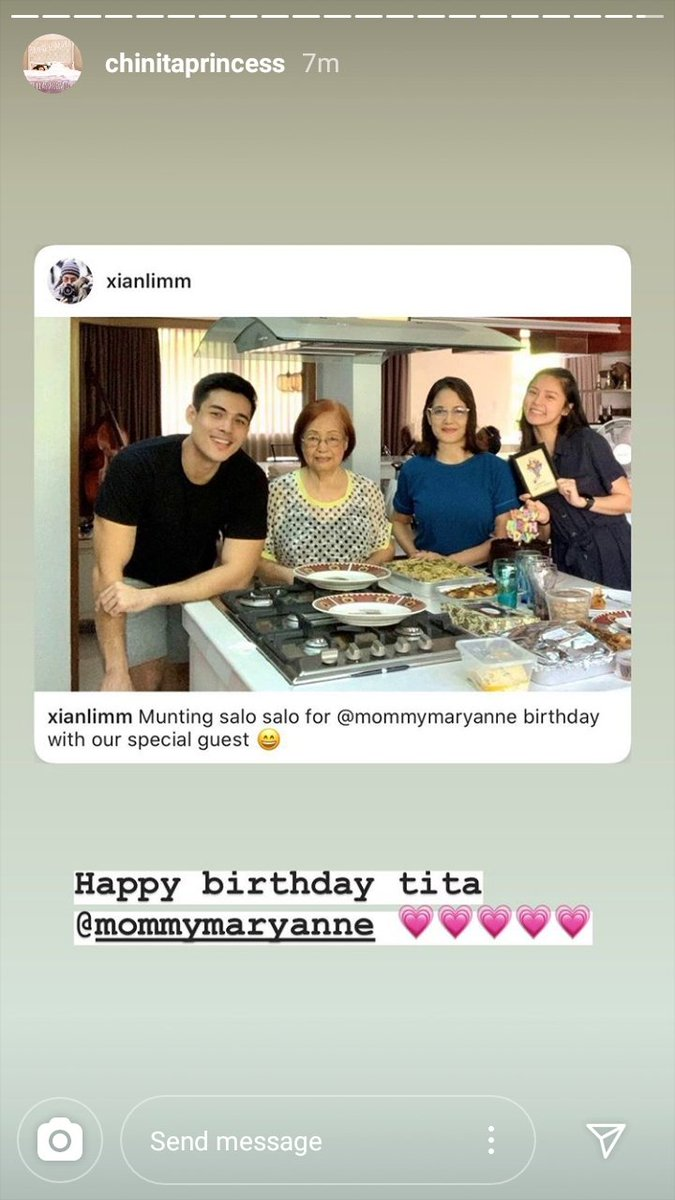 So sweet and lovely  Happy Birthday Mommy Mary Anne  #KimXi #CoupleGoals  From Kim's IGs pic.twitter.com/JLBDVkAJ1Z