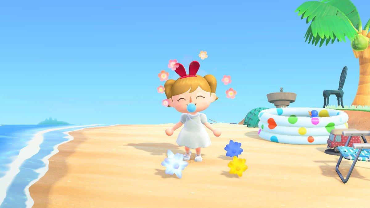 #どうぶつの森 #AnimalCrossing #ACNH #NintendoSwitch 昨日たかぷれくんの島で流星群にお祈りさせてもらいました♪ たくさん走ってくれたり、レアなお花をもらったり、色々ありがとうございました(*^ ^*) ジェミニのクロゼット嬉しい♪