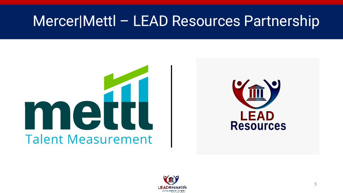 Mercer Mettl is a Global Leader in the Human Resource Consulting, whose mission is to enable organizations to make better people decisions across two key areas: acquisition and development of talent.  #mercermettl #TalentManagement #leadresourcesng #leadresources https://t.co/OmvGFrmDmI