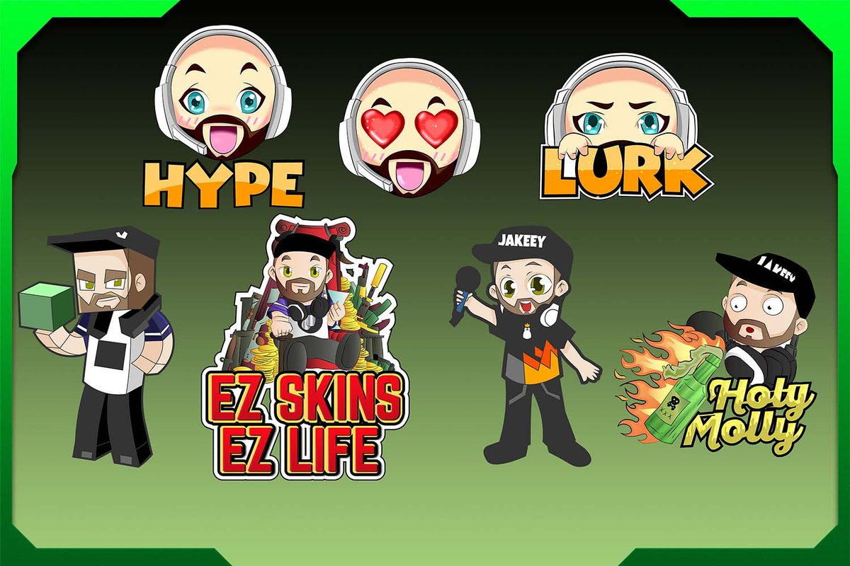 Your very own twitch emotes for sub, youtube emojis or mixer!!!  Get them done on Fiverr with my special 20% OFF coupon when you sign up here:   #twitchstream #SupportSmallStreamers