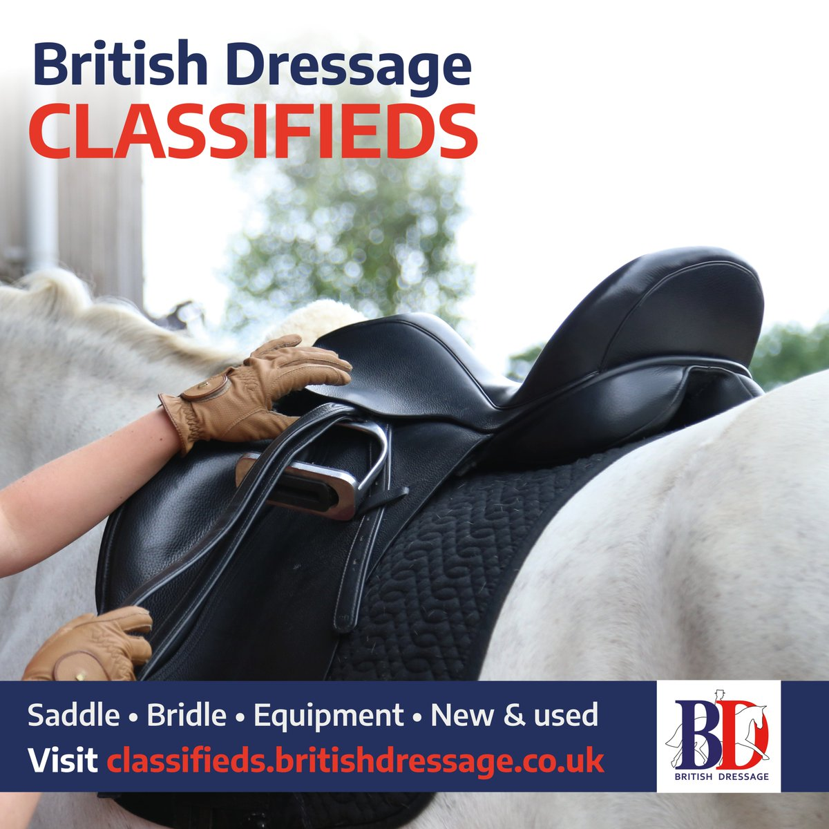 Did you know that you can advertise tack and equipment for horse & rider on our new BD Classifieds?  PLUS For two weeks we're giving you the chance to advertise for FREE💥Read more about our complimentary two week offer and check out BD Classifieds here  https://t.co/OCSZHFHG7g https://t.co/kGkodM1Zi3