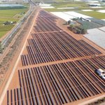 Image for the Tweet beginning: New solar farm offers bite-size
