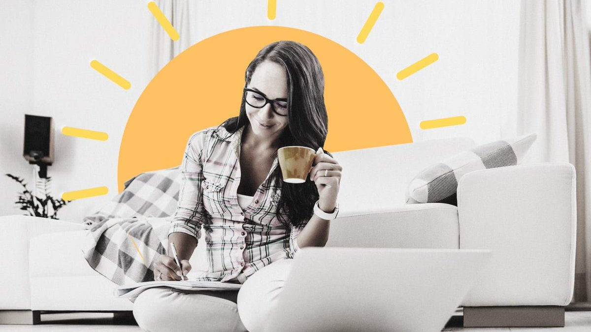 Productive workers do these 5 simple things every day - whether they work from home or in an office. https://t.co/l8fJ7Gf5ra   #productivity #timemanagement #WFH #talentmanagement #strategy https://t.co/RTCGx4cIxC