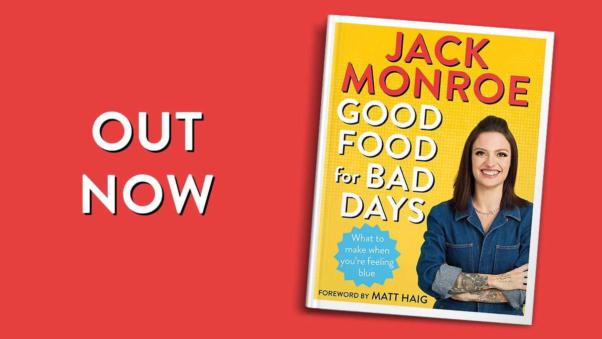 Thanks so much to anyone whos ordered a copy of #GoodFoodForBadDays already. It really means a lot! 💛 If you havent got yours yet, its available at @hivestores, @Waterstones, @WHSmith and many other supermarkets and book stores, IRL and online. ow.ly/qoEf50zQ1gu