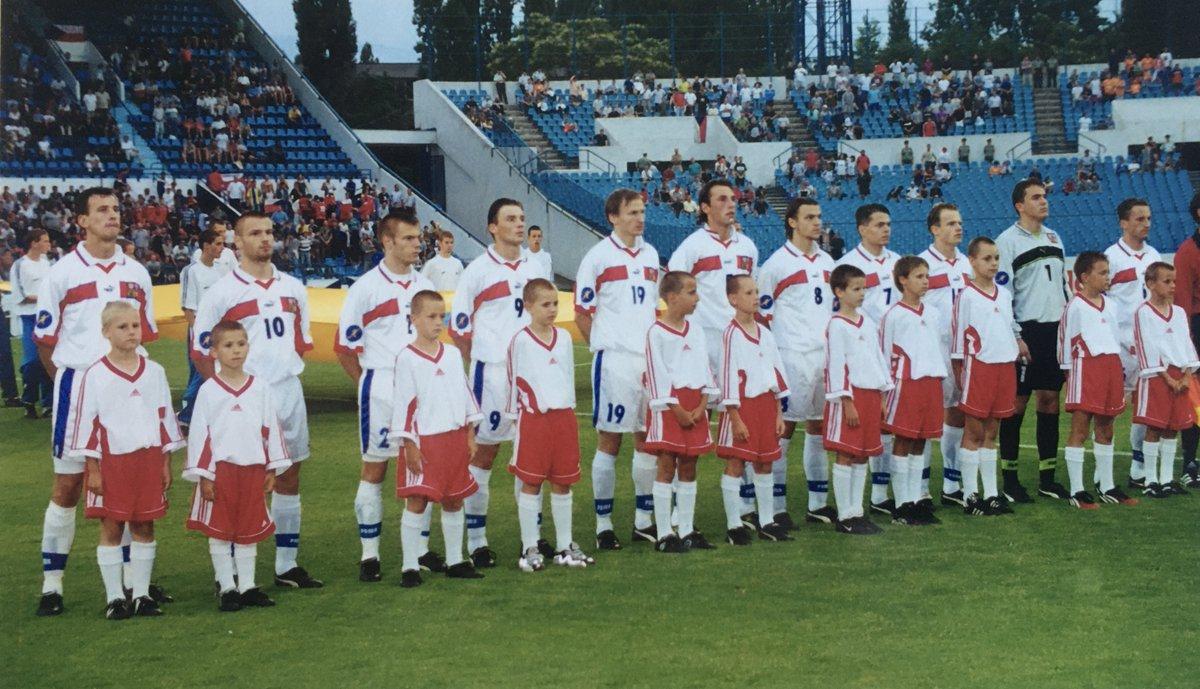 "Czech Football Team on Twitter: ""🔙 in time. Twenty years ago, the ..."