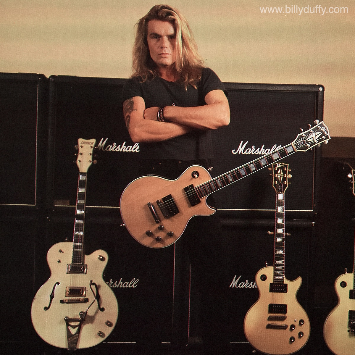 #TBT Guitarist Magazine January 1990… As I've said before Sonic Temple was mainly a Les Paul album but the White Falcon was there both in the studio and live. #BillyDuffy #TheCult #Guitarist #Magazine #1990 #SonicTemple #AmericanHorse #Versus #NewYorkCity #Vote #FalconFriday