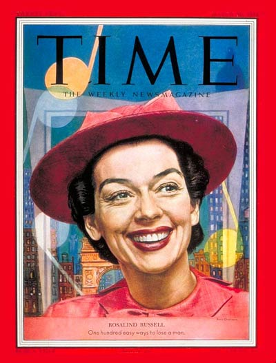 ROSALIND RUSSELL born June 4 (1907-1976). Roz won a #Tony as Ruth Sherwood in the Tony-winning Best Show WONDERFUL TOWN on #Broadway in 1953. She earlier played Ruth in the 1942 movie My Sister Eileen. pic.twitter.com/mQ7Zw8zi0u